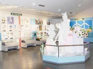 La sala del museo dedicada a Detective Conan