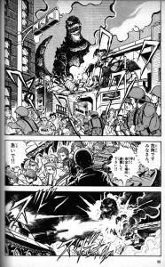 Misilazos, destrucción... ¡Godzilla!