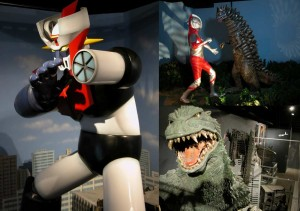 Mazinger z, Ultraman, Godzilla... ¡Menudos dioramas #TLQM!