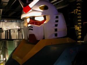 ¡Peazo bichejo el Gundam este! El precursor del de Odaiba.